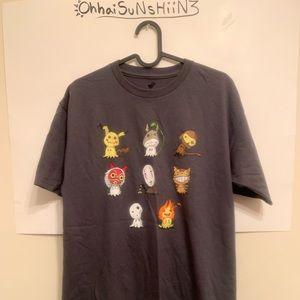 TeeFury Ghibli Pokémon Mimikyu Mash Up Shirt ❤︎